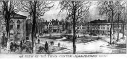 Mariemont View of Town Center