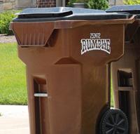 Rumpke Trash carts