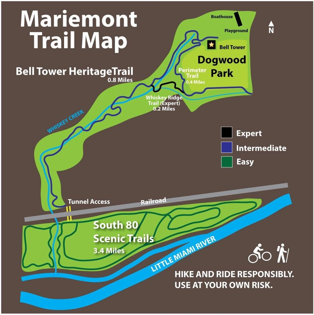 Mariemont Trail Map