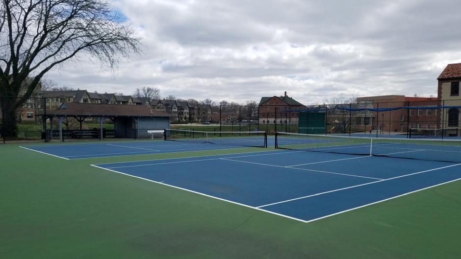 Mariemont Tennis Court